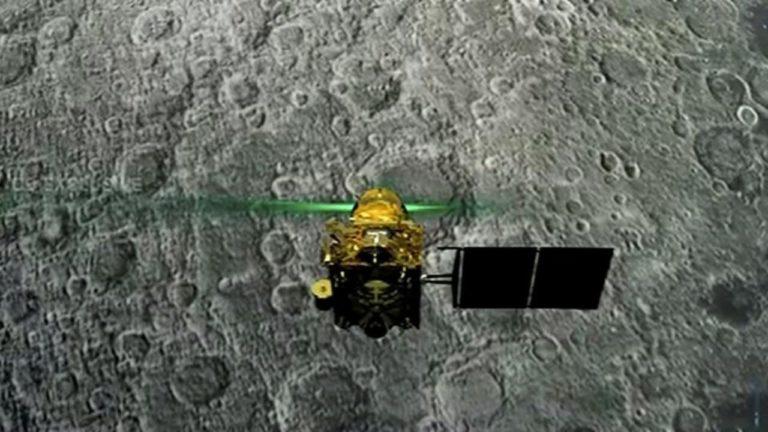 चंद्रयान -2 के आर्बिटर को मिली चंद्रमा के बारे वातावरण के बारे में जानकारी