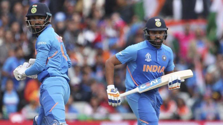 रोहित शर्मा और केएल राहुल ने वेस्टइंडीज के खिलाफ चौके छक्कों की बारिस की
