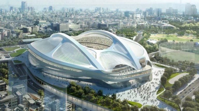 सुनामी की वजह से तबाह हुए जंगलों की लकड़ी से बनाया गया टोक्यो ओलंपिक स्टेडियम