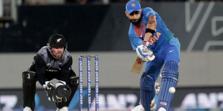 भारत न्यूजीलैण्ड से तीसरा टी20 मैच सुपर ओवर में जीता
