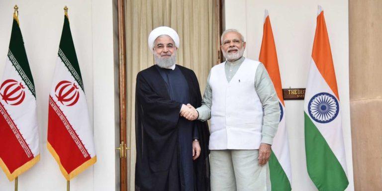 भारत ईरान और अमेरिका के बीच के तनाव को कम करने की भूमिका निभायेगा..!