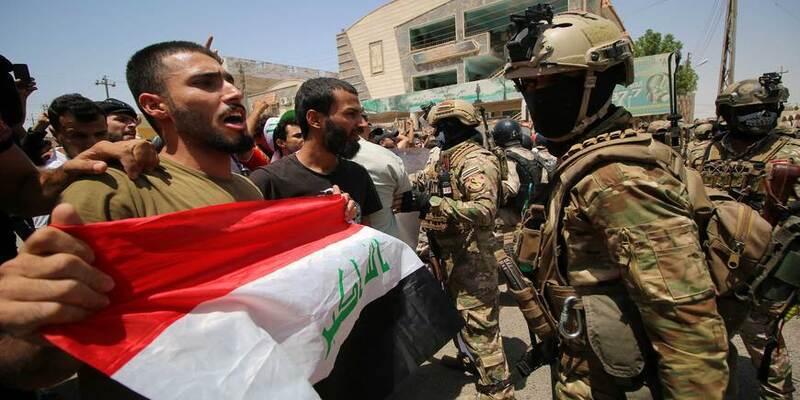 क्यो इराक बेबस है अमेरिका की घमकियों के आगे
