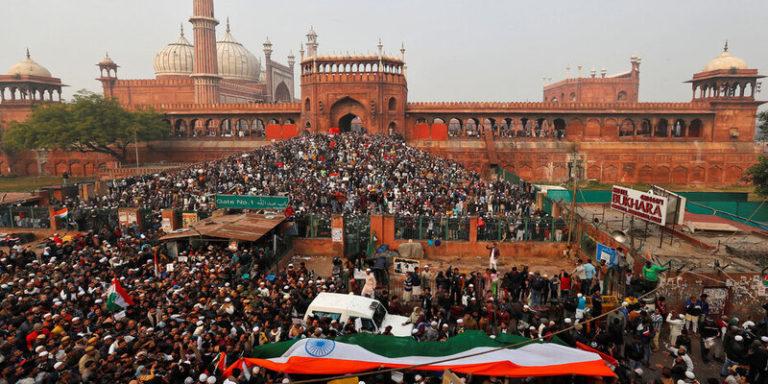 """जामा मस्जिद पाकिस्तान में नही जो वहाँ विरोध प्रदर्शन नही हो सकता"""