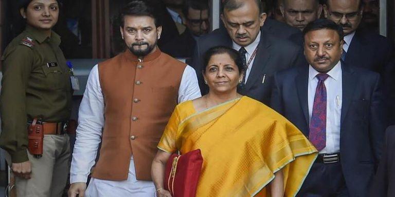 वित्तमंत्री निर्मला सीतारमण ने पढ़ा सबसे लंबा बजट भाषण, बजट में कई घोषणा