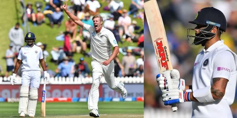 वन डे के बाद टेस्ट में भी न्यूजीलैण्ड ने भारत को क्लीन स्वीप किया