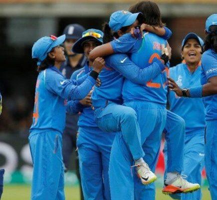 भारतीय महिला क्रिकेट टीम पहली बार टी 20 विश्व कप फाइनल में पहुँची
