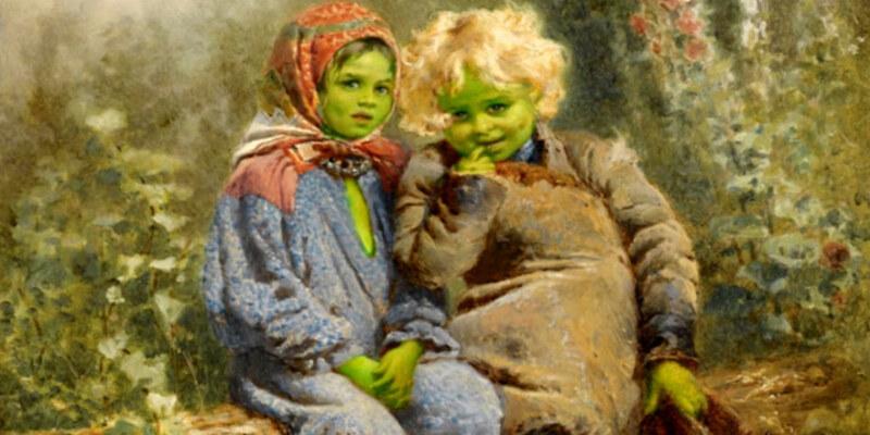 इंग्लैंड में इस जगह के हरे बच्चे क्या दूसरी दुनिया से आये थे ?