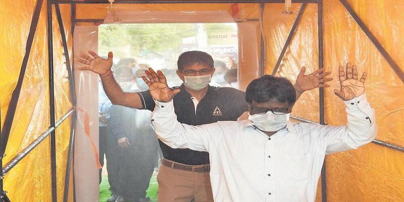 आईआईटी कानपुर ने बनाया एक ऐसा चैम्बर जो कोरोना वायरस को खत्म कर देगा