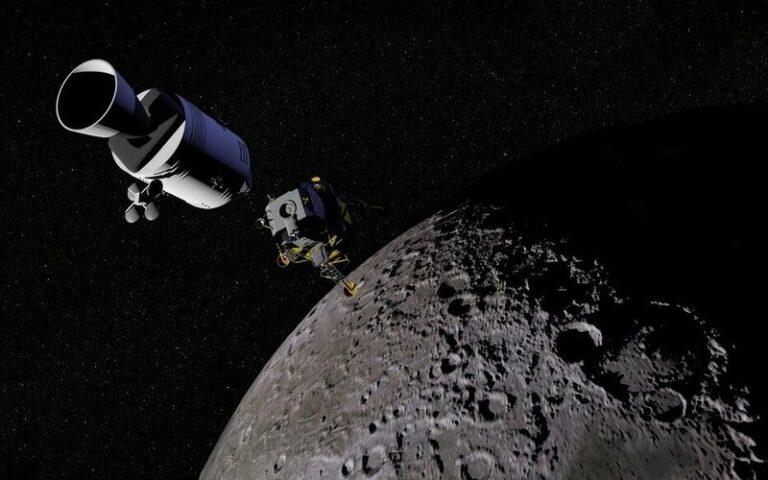 चाँद की सतह पर पानी की संभावना
