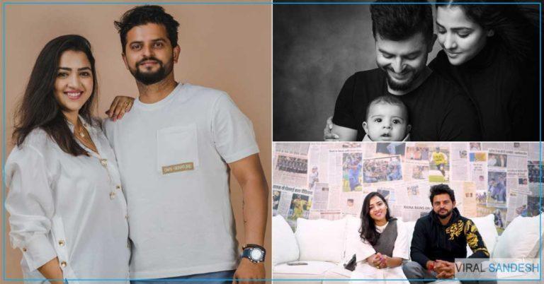 बेहद दिलचस्प क्रिकेटर सुरेश रैना की प्रेम कहानी, प्यार का इजहार करने के लिए 45 घंटे का किया सफर किया