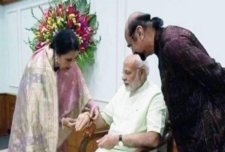 रक्षा बंधन 2021: मिलिए प्रधानमंत्री नरेंद्र मोदी की पाकिस्तानी बहन से, जो हर साल राखी बांधती हैं