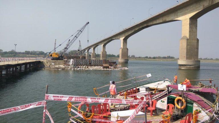 गंगा पर बनने वाला पूर्वांचल का दूसरा रेल-सड़क पुल आधुनिक तकनीक का अनूठा उदाहरण है